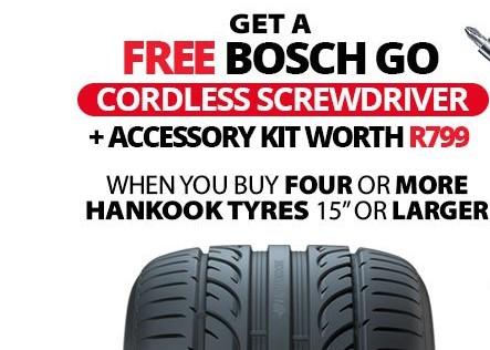 Get a free bosch go cordless screwdriver