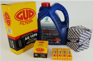 Service kit for any make of vehicle